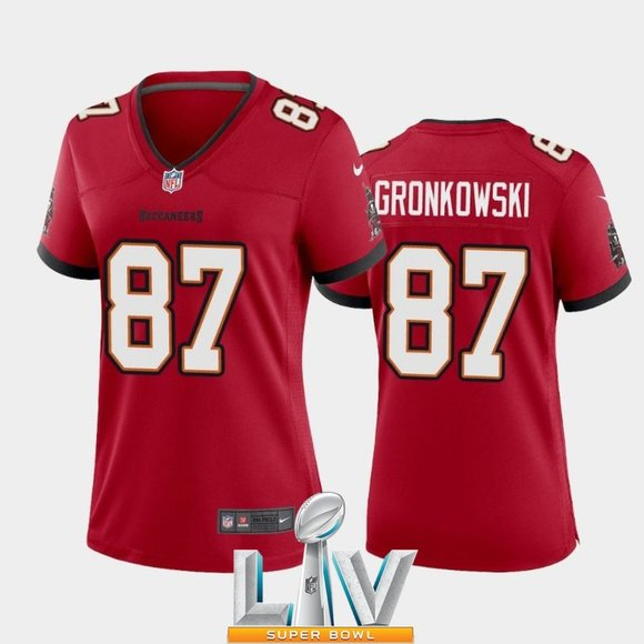 rob gronkowski red jersey